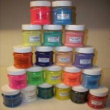 12 x 200g couleurs brillantes sable shakers choisir votre propre cols de 20 différents