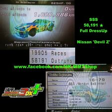 Wangan Maximum Tune 3DX+ 58191star 825hp 63Lv DressUp Nissan Fairlady Devil Z