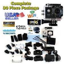 12MP Full HD 1080P Sports Action Cam 8 Wi-Fi with 30 Piece GoPro Accessory Kit 4