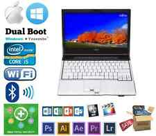 Fujitsu Lifebook Intel i5 / i7 up to 8GB 1TB DVD Windows MacBook OSX Hackintosh