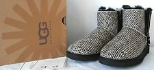 New Boxed Genuine Ugg Australia Printed calf hair suede ankle boots UK 6.5