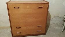 Lit repliable commode meuble télé scandinave vintage années 70 design