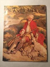 Vintage The Magazine ANTIQUES August 1972 - Tapestries, Early PA Furniture