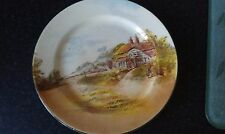 Royal Doulton cabinet Plate, 9 inch diameter. Country Scene.