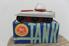 Rare Space Tank Kosmicky Tank Clockwork by Igra Made in Russian 1960's Box
