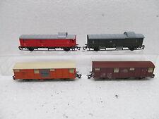 Mes-38649 tt 4 st. wagons DR/DB très bon état,