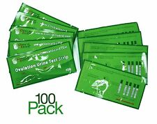 Pack of 100 LH Ovulation Test Strips - FDA Approved From US