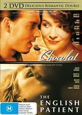 Chocolat / The English Patient DVD R4 Double Feature (2 dvd set) NEW NEW /SEALED