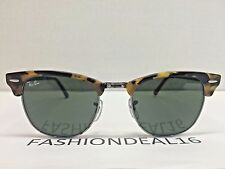RayBan Authentic Clubmaster Spotted Black Large 51mm RB3016 1157 Sunglasses