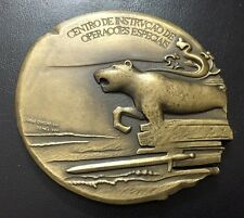 ANIMAL / LION / ARMY SPECIAL FORCES / RANGERS / BRONZE MEDAL BY JORGE COLE / M81