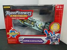 Hasbro Transformers Energon DREADWING Decepticon POWERLINX Gun Boat Action...NEW