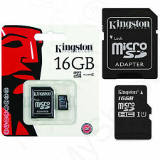 Original Speicherkarte Kingston Micro SD Karte 16GB für Samsung Galaxy J3 2016