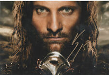 THE LORD OF THE RINGS personally signed 12x8 - VIGGO MORTENSON as ARAGORN