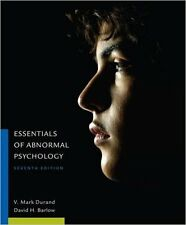 Essentials of Abnormal Psychology 7th Edition by Vincent Durand ( Looseleaf Ed )