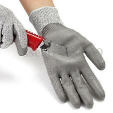 1 Pair Protective Safety Coating Work Gloves Anti Cut Stab Resistant Builders