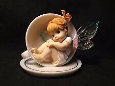 """My Little Kitchen Fairies 2001 """"My Little Cup of Tea Fairie"""" Enesco 102540"""