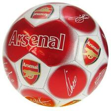 "Arsenal FC Authentic EPL Soccer Ball ""Signatures"" Ramsay,Wilshere and more"