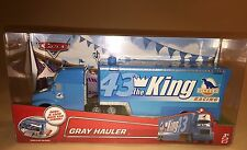 Disney Pixar Cars The King Dinoco Gray Blue Hauler New 43 Trailer