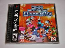 DDR Disney Mix Complete Game  PlayStation 1 PS1 PSX PS2 2 Dance Dance Revolution
