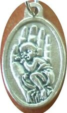 CHOOSE LIFE Medal + Pro-Life, with defenseless baby held in a hand