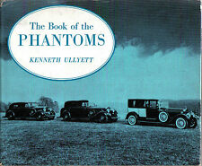 Rolls Royce Book of the Phantoms I-V inc. pages from original instruction book