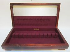 FLATWARE CHEST VINTAGE LARGE STORAGE BOX TARNISH PROOF MADE BY W.M. ROGERS SONS
