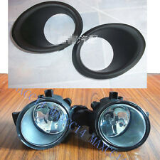 Set front bumper FOG DRIVING Light lamp With cover for 2008-2014 NISSAN Qashqai