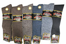 MENS 12 PAIRS LONG THICK WOOL THERMAL WINTER WARM WALKING HIKING SKI BOOT SOCKS