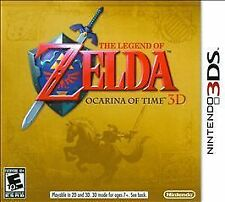 Nintendo 3DS The Legend of Zelda: Ocarina of Time 3D VideoGames