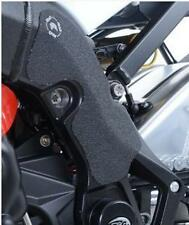 R&G 2 PIECE BLACK FRAME BOOT GUARD KIT for BMW S1000RR, 2015 to 2016