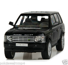 Land-Rover Range Rover 1/24 Alloy Diecast Jeep Car Model Gift Collection Black