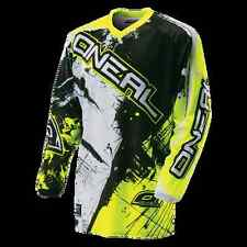 MAGLIA MTB DOWNHILL DH ONEAL ELEMENT Jersey SHOCKER black/hi-Viz