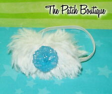 MONSTER HIGH ABBEY BOMINABLE GHOULS RULE DOLL REPLACEMENT WHITE FUR HEADBAND