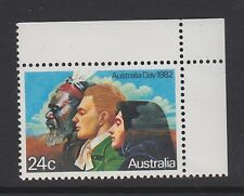 AUSTRALIA Day 1981  MNH SG837 24c Settlers Aborigine