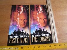 Star Trek First Contact ticket World Premiere Mann Chinese Theatre 1996 lot of 2