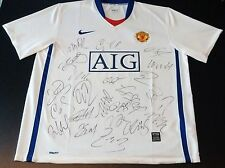 Manchester United 2008/09 23 Signed Shirt Authentic Jersey COA Cristiano Ronaldo