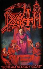 "DEATH FLAGGE / FAHNE ""SCREAM BLOODY GORE"" POSTERFLAG"