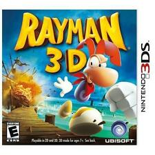 Rayman 3D (Nintendo 3DS, 2011) GAME ONLY NICE SHAPE WORKS WELL NES HQ