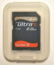 SanDisk Ultra II 2 GB SD Card