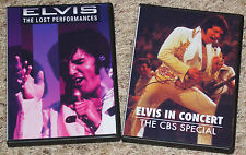 Elvis Presley The Lost Performances DVD & Elvis In Concert DVD video (2 Videos)