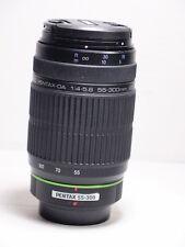 Pentax smc da 55-300mm f4.5.8 ed objectif pour K500 K200 k-r k-x k-m K5 K7 K100 K30