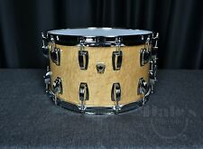 "Ludwig drums Classic Maple Exotic USA 8"" x 14"" snare drum Coliseum Birdseye NEW"