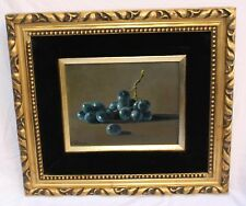 MAGNIFICENT STILL LIFE FRUIT OIL ON CANVAS PAINTING SIGNED PARADISO