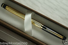 Cross Made in the USA Executive Series Metropolis BLACK and Gold Rollerball pen