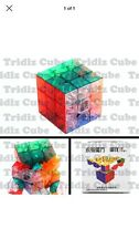 3x3x3 YJ Yulong Transparent Stickerless Speed Cube puzzle New  3x3 - USA SELLER