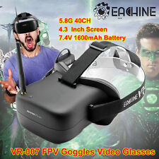 Eachine VR-007 All-In-One FPV Video Goggles 5.8Ghz w/Batteries, Screen, Receiver