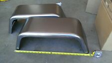 """PAIR of Steel Trailer Fenders Single Axle 8""""x24"""" JEEP Style FREE SHIPPING!!"""