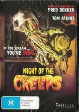 NIGHT OF THE CREEPS -  NEW REGION 4 DVD FREE LOCAL POST
