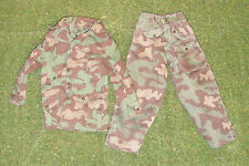 DRAGON 1/6 WW II GERMAN HASAN MALNAR - CAMO TROUSERS - CAMO MOUNTAIN JACKET