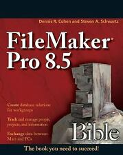 Bible: FileMaker Pro 8.5 Bible 384 by Schwartz and Cohen - BOOK